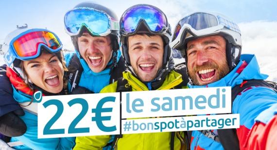 Bons plans - 22 euros le samedi aux Sybelles