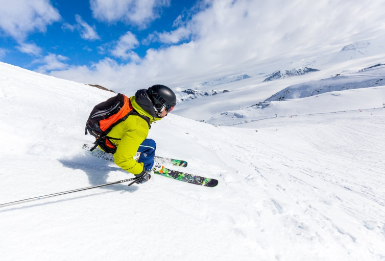 Freeride and off-piste skiing - Les Sybelles