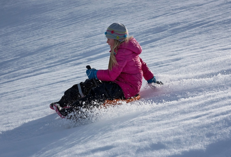 Sledding areas - Les Sybelles