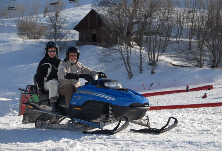 Snowmobiles - Les Sybelles
