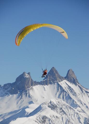 Paragliding - Les Sybelles