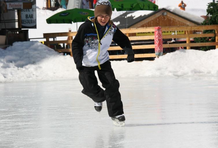 Skating rink - Les Sybelles