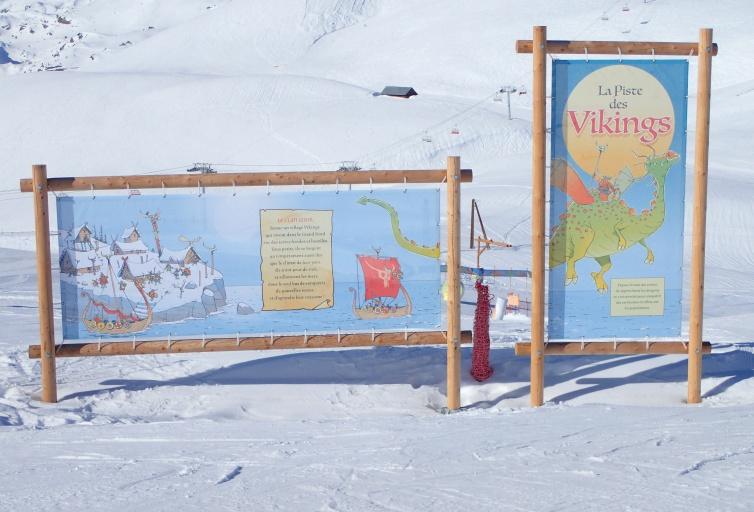 Piste des Vikings - Domaine Les Sybelles
