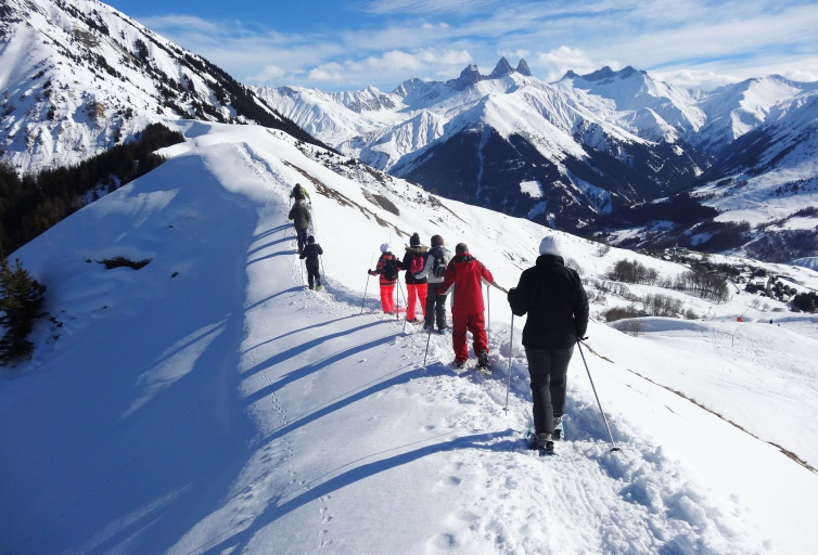 Sneeuwschoenen - Les Sybelles