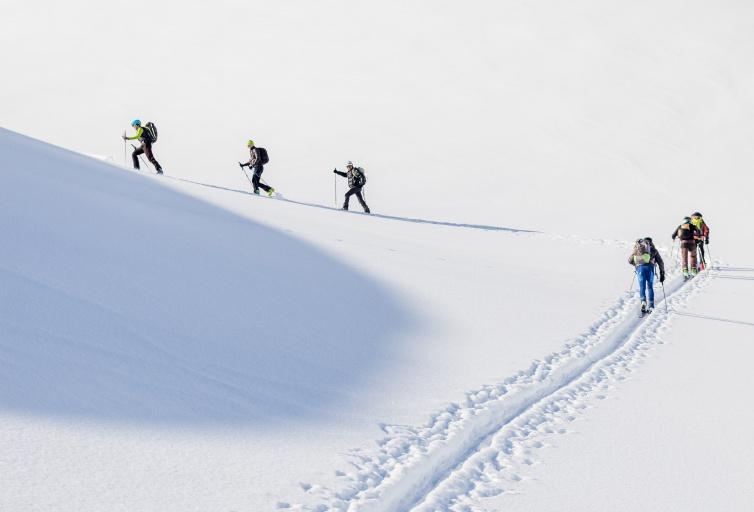 Ski de randonnée - Domaine Les Sybelles