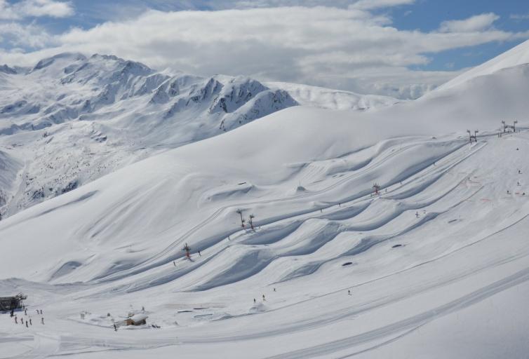 Snowpark - Domaine Les Sybelles