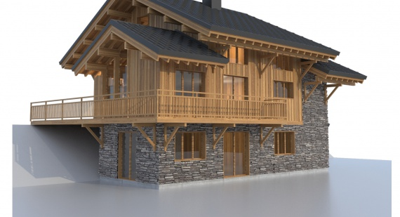 Chalet Thoya: a high-end location at Le Corbier