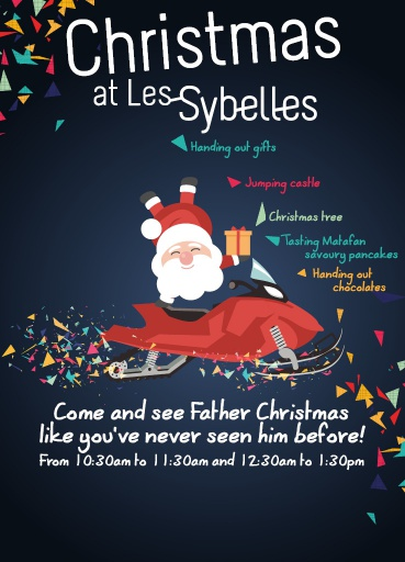 Christmas at Les Sybelles - Les Sybelles